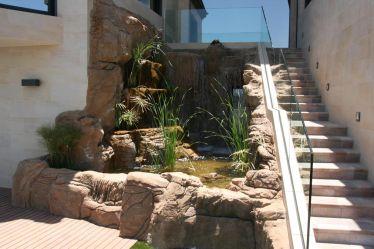 Wasserfallanlage mit Edelpool_5