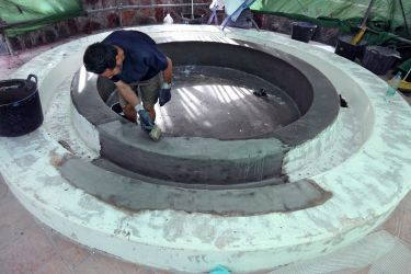 Beschichtung Mini -Pool